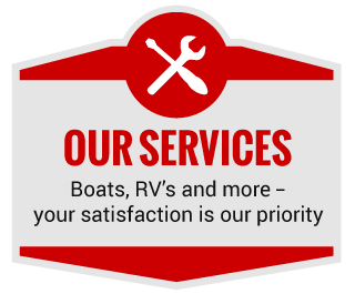 Our Services - Boats, RV's and more – your satisfaction is our priority