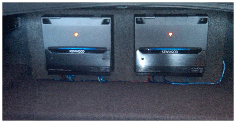 amps in trunk